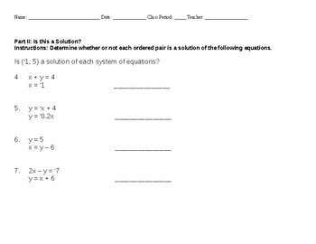 8.5 A & 8.5B Linear Equations