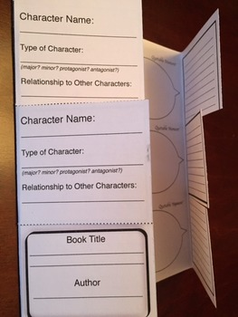 8.5 X 14 Novel Study Fill-A-Fold