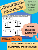 8.5A Subatomic Particles Assessment