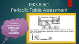 8.5C Periodic Table Assessment