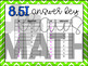8.5I: Writing Linear Equations from Graphs & Tables STAAR
