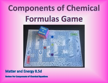 8.5d Components of Chemical Formula Game