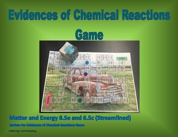 8.5e and 6.5c Evidences of Chemical Reactions Game (Streamlined)