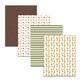 "8.5x11"" Printable Garden Digital Papers for Summer Scrapbooking, Garden Gnome"