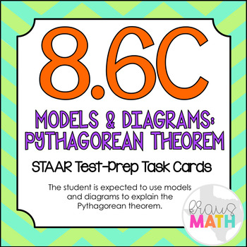 8.6C: Modeling the Pythagorean Theorem STAAR EOC Test-Prep