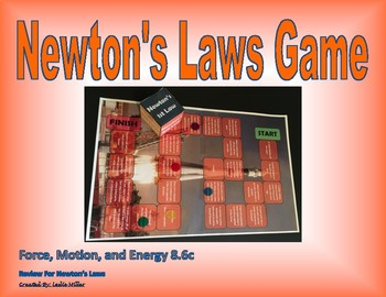 8.6c Newton's Laws Game