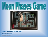 8.7b and 4.8c Moon Phases Board Game