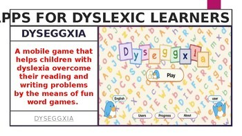 8 APPS FOR DYSLEXIC LEARNERS