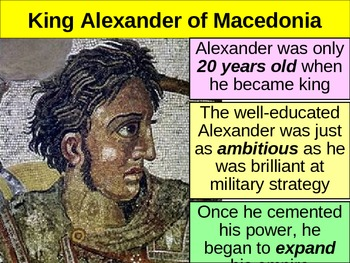 UNIT 2 LESSON 3. Alexander the Great and Hellenism POWERPOINT