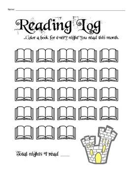 8 Amazing Reading Logs
