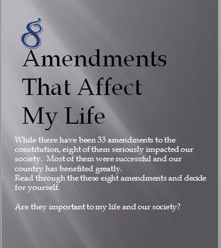 8 Amendments