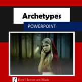 8 Archetypes Powerpoint Slides - Creative Writing - Literature