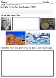 Art 8 Famous Artist Worksheets - (8 Printable) Open-Ended & Coloring Worksheets