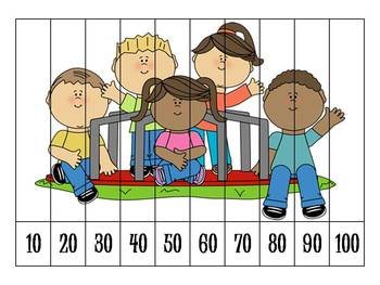 8 Back to School Number Order Puzzles {FREEBIE}