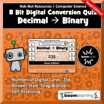8 Bit Binary Conversion Quiz - Beast Edition | BOOM Learning