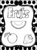 8 Black and White Food Pyramid Printable Posters/Anchor Charts.