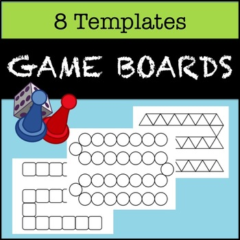 8 Board Game Templates