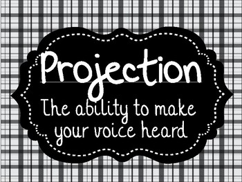 8 Characteristics of a Good Stage Voice Posters