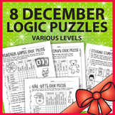 Logic Puzzles: Christmas - December - 4 levels