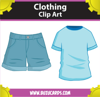 8 Clothing Clipart