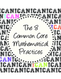 8 Common Core Mathematical Practices mini-POSTERS