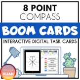 8 Compass Point Boom Cards Distance Learning