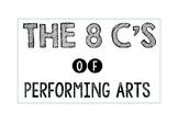 8 Cs of Performing Arts (Colour) Pdf