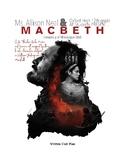 8 Day MacBeth Entire Unit Bundle