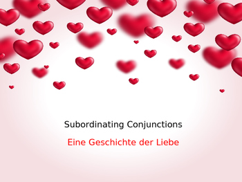 Intro to Subordinating Conjunctions