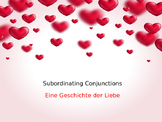 German Intro to Subordinating Conjunctions