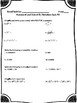 Exponents & Scientific Notation Assessments - 8.EE.1, 8.EE.3, 8.EE.4