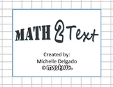 8.EE.C.8 - Math 2 Text Writing Prompt #7