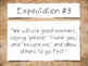 Great Expectations: 8 Expectations for Living Poster Set (Vintage Maps)