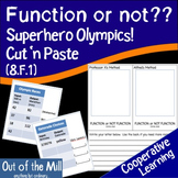 8.F.1 Function or Not: Superhero Olympics!