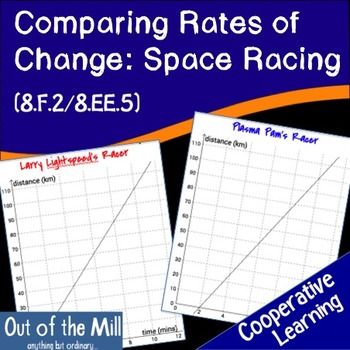 8.F.2 Comparing Rates of Change: Space Racing