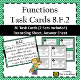 8.F.2 Task Cards, Comparing Functions, Properties of Functions