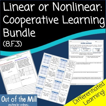 8.F.3 Linear or Nonlinear Cooperative Learning Bundle