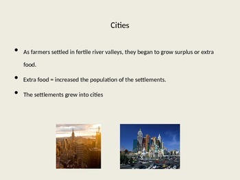 8 Features of Civilizations