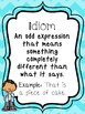 8 Figurative Language Printable Posters/Anchor Charts. ELA Posters