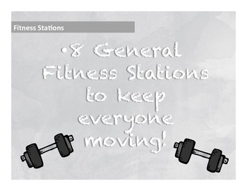 8 Fitness Stations