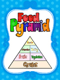 8 Food Pyramid Printable Posters/Anchor Charts.