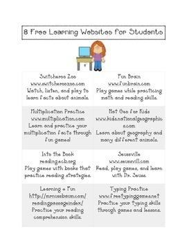 8 Free Websites for Kids