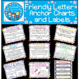 8 Friendly Letter Anchor Charts and Friendly Letter Labels
