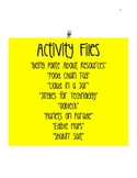 8 Fun Activities for Science and Social Studies (k-5)