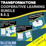 8.G.1 Translations, Rotations, and Reflections Cooperative Learning Bundle
