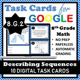 8.G.2 Digital Task Cards, Describing Sequences of Congruent Figures