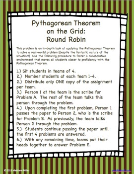 8.G.8  Pythagorean Theorem on the Grid Cooperative Learning
