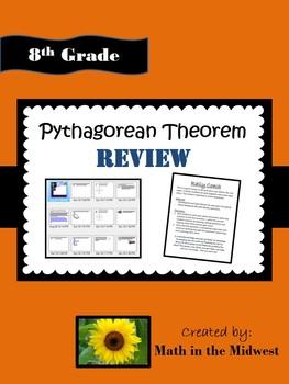8.G.B.6, 8.G.B.7, 8.G.B.8 Pythagorean Theorem Review