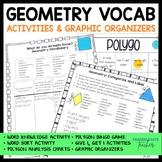 Geometry Vocabulary Activities