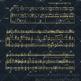 8 Gold Glitter Music Sheet Overlay Digital Papers